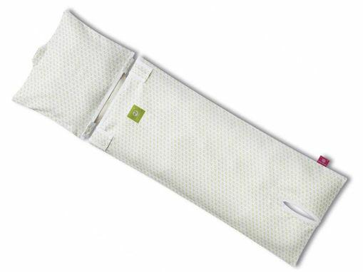 Immagine di Nati Naturali fodera di cotone per materassino seggiolino auto cuori - Accessori per seggiolini auto