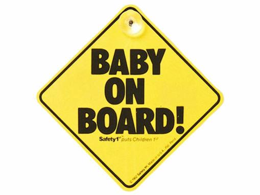 Immagine di Safety 1st bebè a bordo con ventosa - Accessori per seggiolini auto
