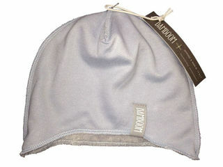 Immagine di Bamboom cappellino bimbo azzurro/grigio taglia 1-3 mesi - Cappelli e guanti