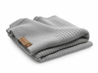Immagine di Bugaboo copertina in lana grigio chiaro - Accessori vari
