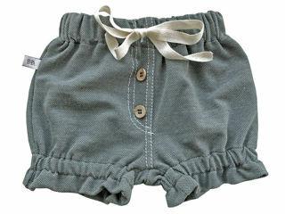 Immagine di Bamboom pantaloncino corto bimba verde oliva tg 1 mese - Pantaloni