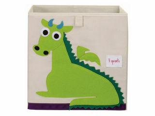 Immagine di 3 Sprouts contenitore portaoggetti drago - Accessori vari