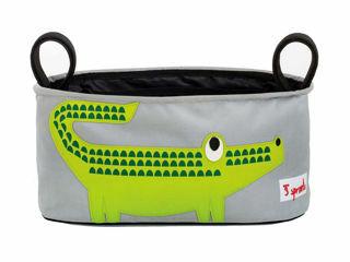 Immagine di  3 Sprouts portaoggetti per passeggino coccodrillo - Borse e organizer