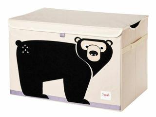 Immagine di 3 Sprouts baule portagiochi orso - Accessori vari