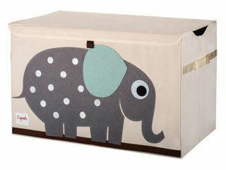 Immagine di 3 Sprouts baule portagiochi elefante - Accessori vari