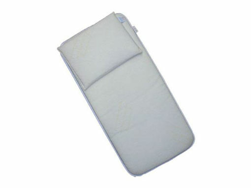 Immagine di Italbaby materasso e cuscino per navicella 70 x 35,5 cm - Materassini