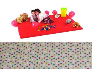 Immagine di Baby's Clan tappeto gioco Cuoricini - Palestrine e tappeti