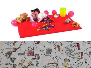 Immagine di Baby's Clan tappeto gioco Galline - Palestrine e tappeti