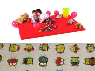 Immagine di Baby's Clan tappeto gioco Gufetti - Palestrine e tappeti