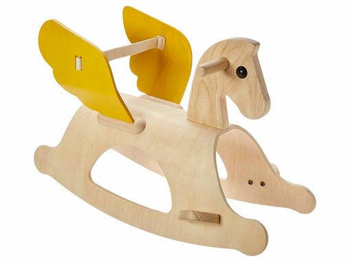 Immagine di PlanToys cavallo a dondolo Pegaso - Giochi cavalcabili