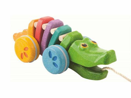 Immagine di PlanToys coccodrillo arcobaleno - Educativi