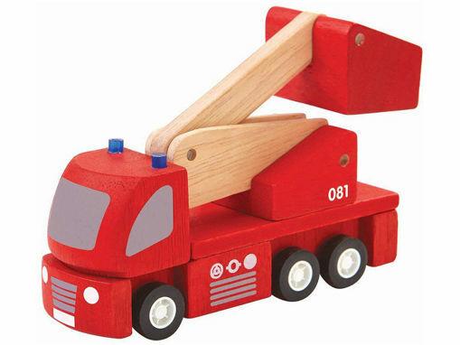 Immagine di PlanToys camion dei pompieri - Educativi
