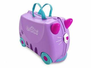 Immagine di Trunki valigia cavalcabile cassie candy cat - Zainetti e valigie