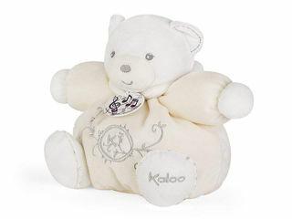 Immagine di Kaloo Perle peluche orso paffuto musicale crema 18 cm - Peluches