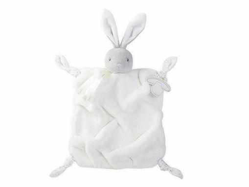 Immagine di Kaloo Plume doudou marionetta coniglio crema 20 cm  - Peluches