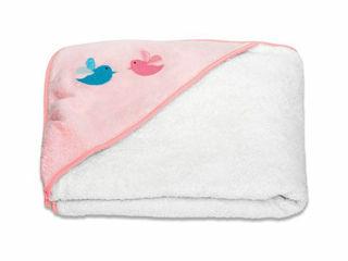 Immagine di Suavinex mantella da bagno Baby Hug rosa - Accappatoi
