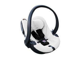 Immagine di BeSafe copertura protettiva per seggiolino iZi Go X1-iZi Go Modular bianco - Copri seggiolino auto