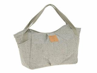 Immagine di Laessig borsa Green Label Twin Bag bouclè beige - Borse e organizer