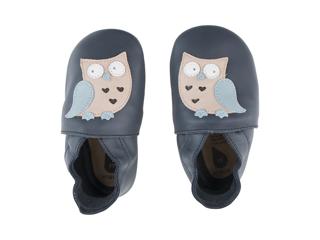 Immagine di Bobux scarpa neonato Soft Sole tg. XL gufo navy - Scarpine neonato