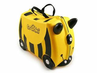 Immagine di Trunki valigia cavalcabile bernard ape gialla - Zainetti e valigie