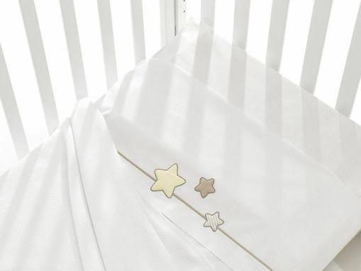Immagine di Erbesi completo lenzuolino 3 pz Dado bianco tortora - Corredino nanna