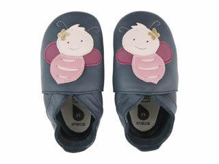 Immagine di Bobux scarpa neonato Soft Sole tg. M ape navy - Scarpine neonato