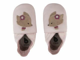 Immagine di Bobux scarpa neonato Soft Sole tg. L volpina rosa chiaro - Scarpine neonato