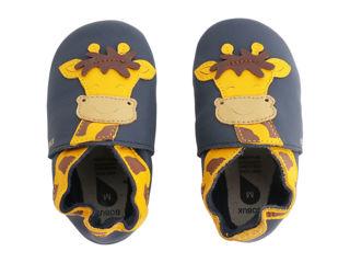 Immagine di Bobux scarpa neonato Soft Sole tg. M giraffa navy - Scarpine neonato