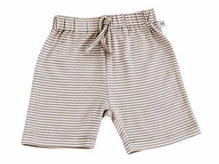 Immagine di Bamboom pantaloncino corto rigato bianco-rosa tg 6 mesi - Pantaloni
