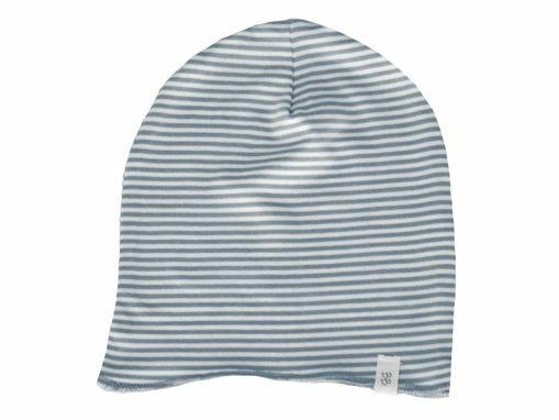 Immagine di Bamboom cappellino estivo rigato bianco-azzurro tg S - Cappelli e guanti