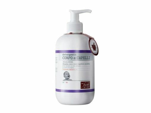 Immagine di Fiocchi di riso detergente corpo e capelli 400 ml - Creme bambini