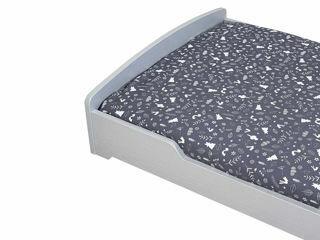 Immagine di Dili Best piumetto letto 3 pz sfoderabile Ozzy Montessori grigio - Corredino nanna