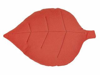 Immagine di Dili Best cuscino a soggetto foglia Ozzy Montessori arancio - Materassi e cuscini