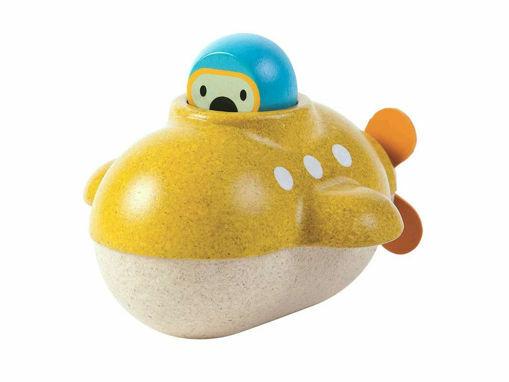 Immagine di Plan Toys barca sottomarino  - Giocattoli in legno