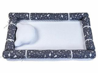 Immagine di Dili Best fasciatoio tessile 50x80 cm Ozzy grigio - Complementi d'arredo