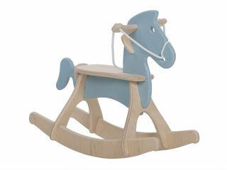 Immagine di Alondra cavallo a dondolo Rocky cielo - Giochi cavalcabili