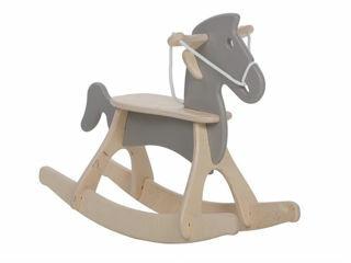Immagine di Alondra cavallo a dondolo Rocky arena - Giochi cavalcabili