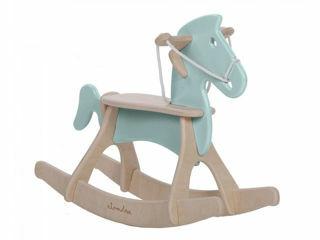 Immagine di Alondra cavallo a dondolo Rocky mint - Giochi cavalcabili