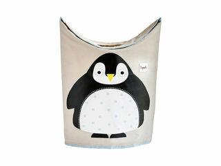 Immagine di 3 Sprouts Portabiancheria pinguino - Complementi d'arredo