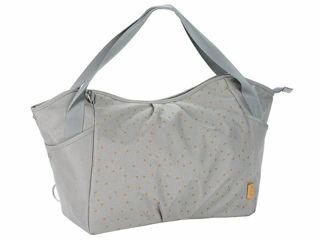 Immagine di Laessig borsa Green Label Twin Bag triangle light grey - Borse e organizer