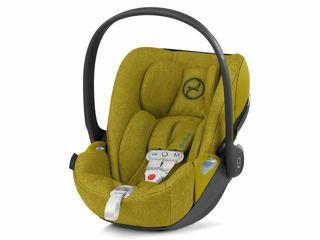 Immagine di Cybex Platinum seggiolino Cloud Z Plus SensorSafe i-Size mustard yellow - Seggiolini auto i-Size