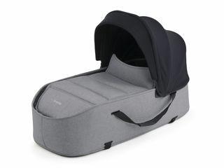 Immagine di Bumprider navicella per passeggino Connect nero-grigio melange - Navicelle