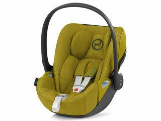 Immagine di Cybex Platinum seggiolino Cloud Z Plus i-Size mustard yellow - Seggiolini auto i-Size
