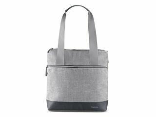 Immagine di Inglesina borsa zaino Back Bag per passeggino Aptica silk grey - Borse e organizer