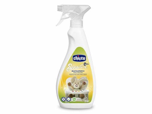 Immagine di Chicco Sensitive spray multisuperficie 500 ml - Eco detergenti