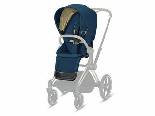 Immagine di Cybex Platinum Seat Pack per passeggino Priam mountain blue - Capottine e rivestimenti