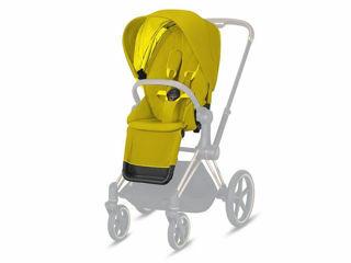 Immagine di Cybex Platinum Seat Pack per passeggino Priam mustard yellow - Capottine e rivestimenti