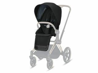 Immagine di Cybex Platinum Seat Pack per passeggino Priam deep black - Capottine e rivestimenti
