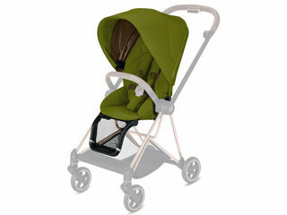 Immagine di Cybex Platinum Seat Pack per passeggino Mios khaki green - Capottine e rivestimenti