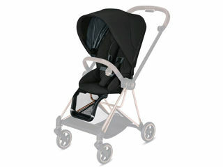 Immagine di Cybex Platinum Seat Pack per passeggino Mios deep black - Capottine e rivestimenti